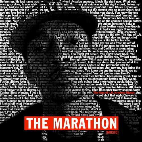 nipsey marathon